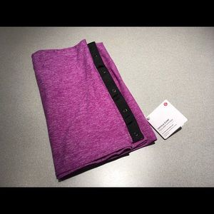 Lululemon Vinyasa Scarf Heathered Purple NWT